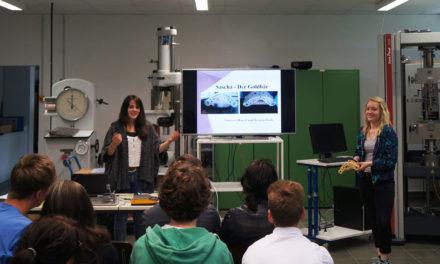 ITech³ Informationstechnik – Schülerinnen und Schüler entwickeln Motorhalterung für Pkw